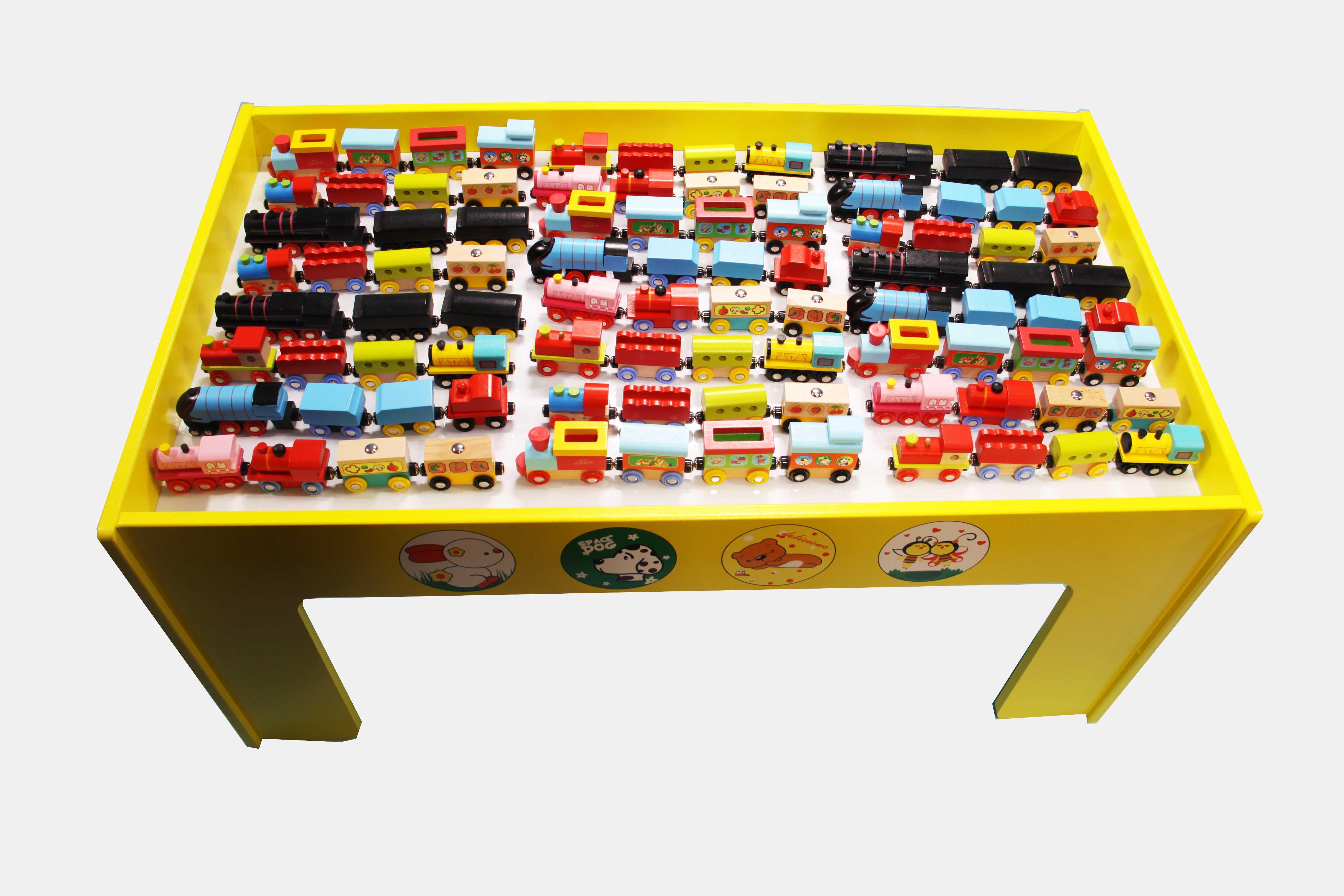 2套磁力小火车