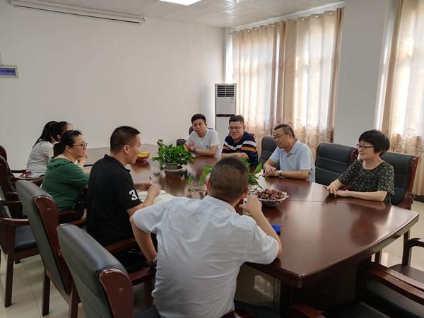 民革宣城市委会第二支部调研高新区企业02