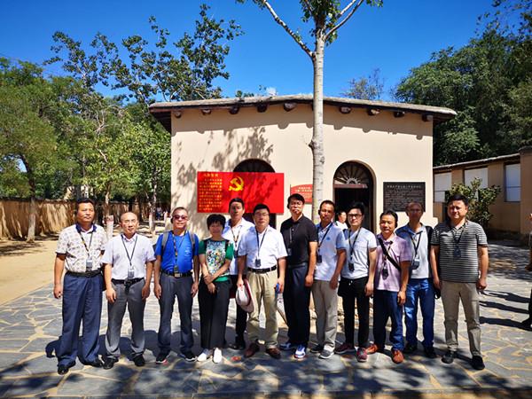 九三学社宣城市基层委赴西柏坡开展主题教育活动