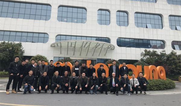 广德县工商联组织新生代企业家开展标杆企业游学活动1