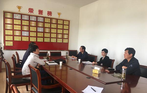 郭梅香调研胡村回族村少数民族专项资金使用情况