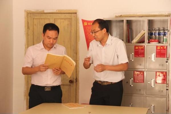 宁国市委常委、新葡萄赌场app部部长杨星赴竹峰街道调研指导工作01