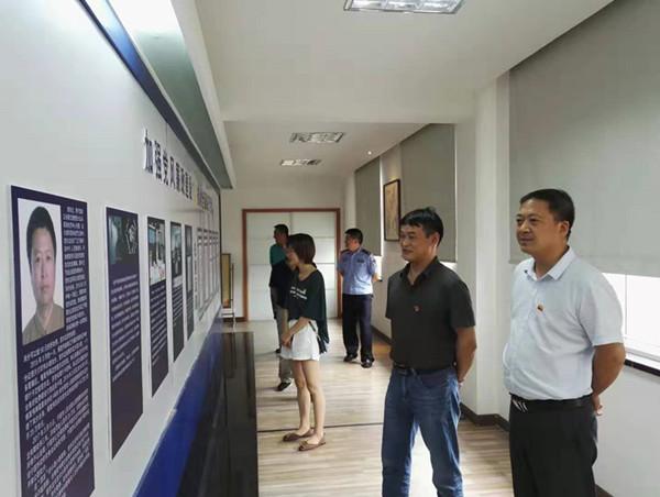 宁国市委统战部开展廉政警示教育活动