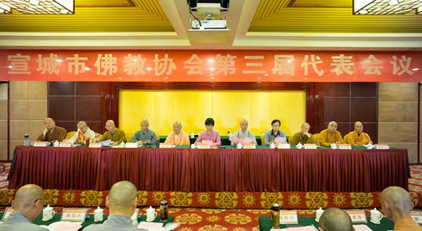 宣城市佛教协会第三次代表会议图片二