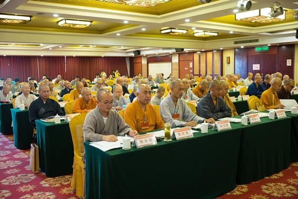 宣城市佛教协会第三次代表会议图片一