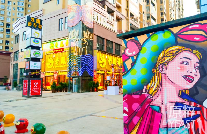 汉阳步行街图片-组1256