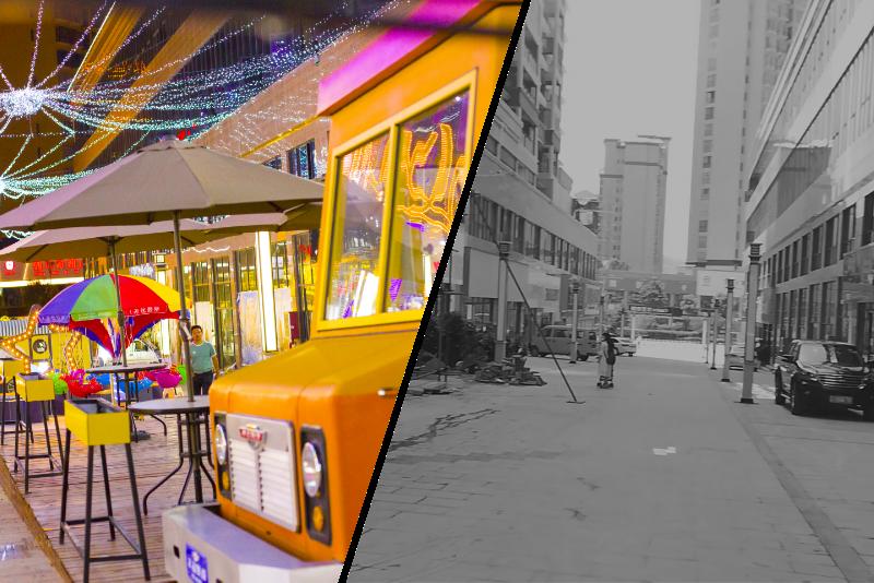 汉阳步行街图片-组1260