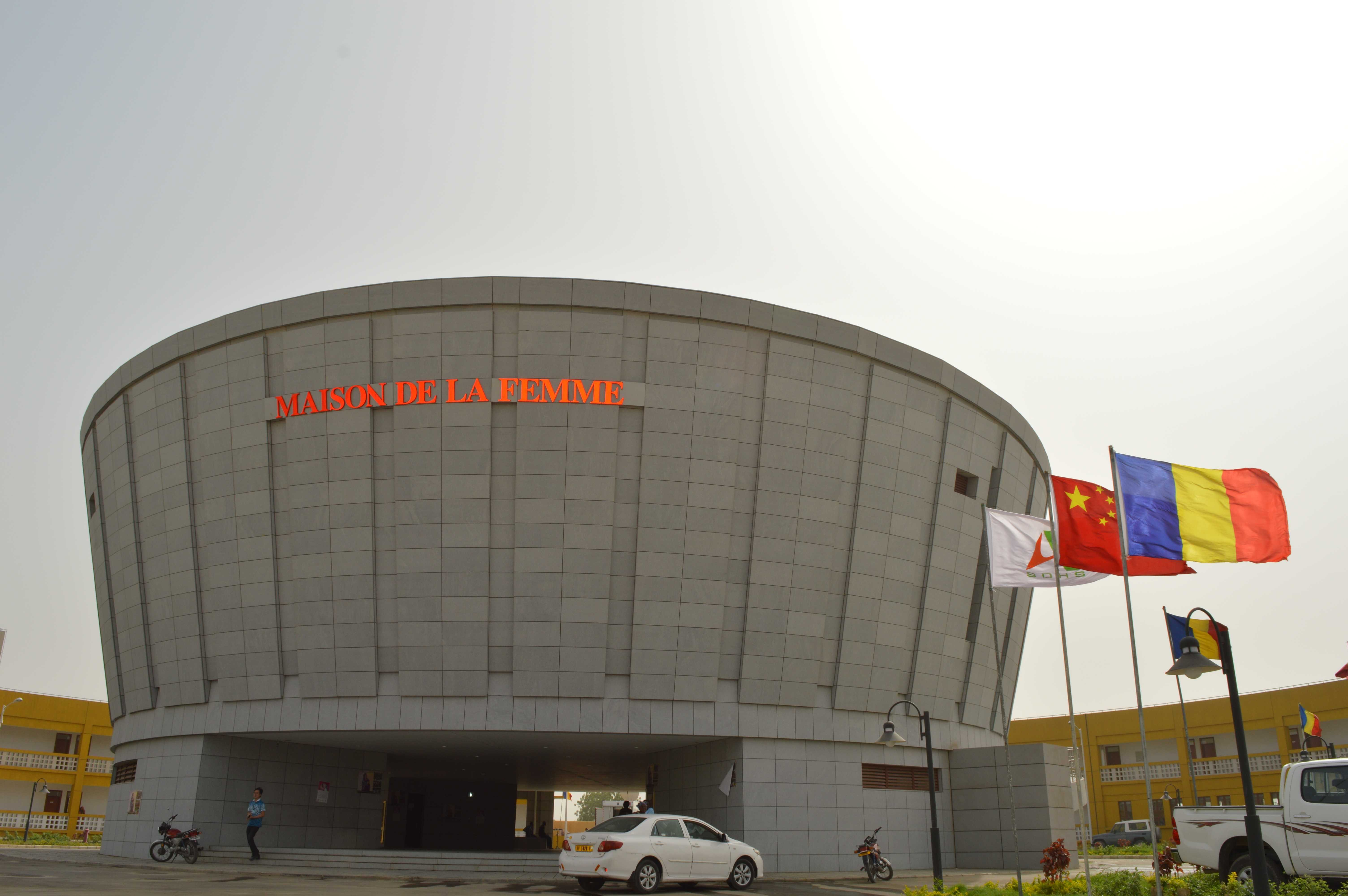 Support for the main building of the Women's Training Center