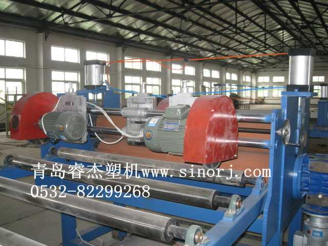 PVC免烧砖托板生产线塑料托盘生产线1