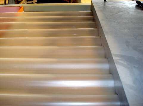 PVC波浪板生产线1