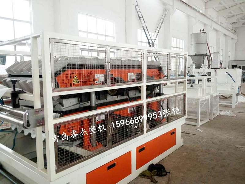 PVC波浪瓦生产线树脂瓦设备琉璃瓦生产设备1