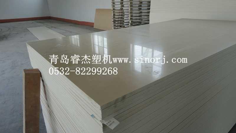 卫浴板浴柜板生产线橱柜板广告板生产设备4