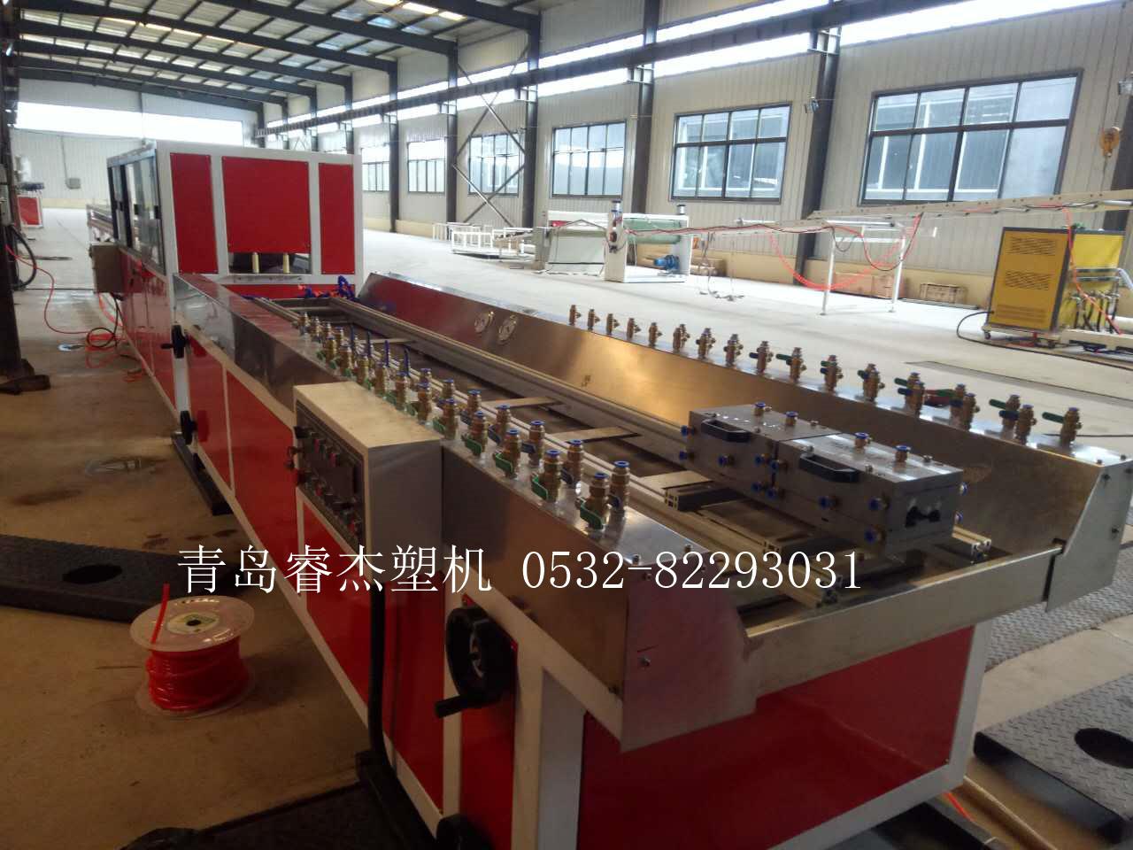 木塑附框设备门窗附框型材生产线设备PVC塑木附框机器2