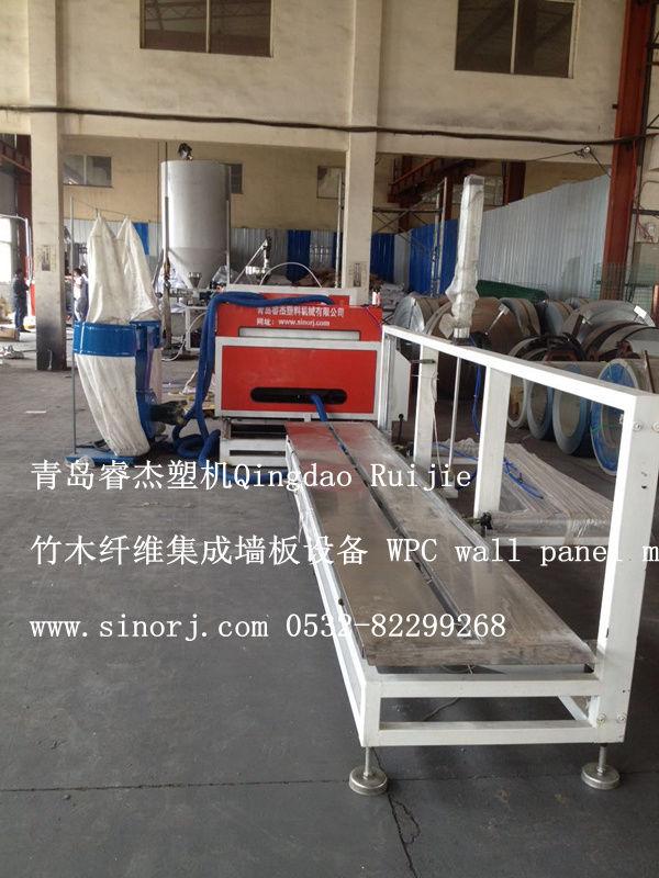 PVC木塑隔墙板生产线木塑隔墙板设备轻质隔墙板生产机械2