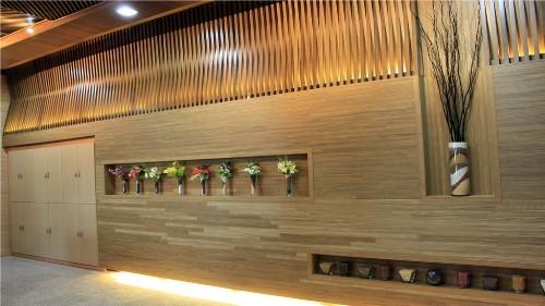 PVC木塑长城板设备生态木长城板生产线2