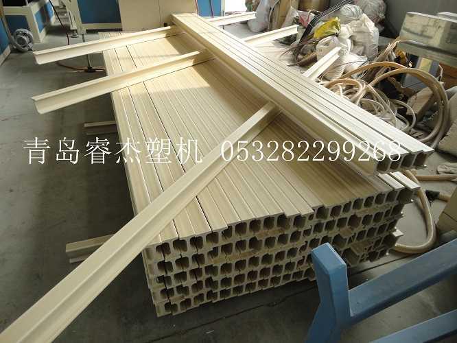 木塑工字梁生产线木塑木方生产设备3
