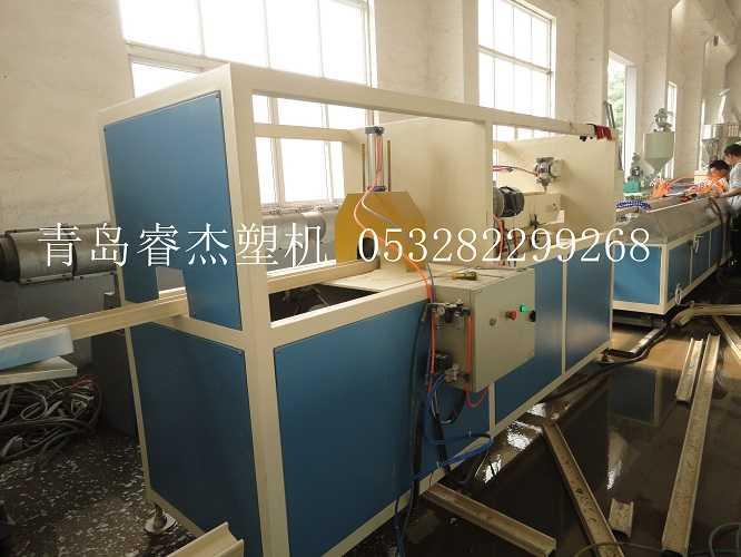 木塑工字梁生产线木塑木方生产设备2