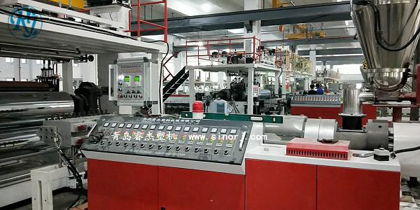 PVC石塑地板生产线,SPC地板设备