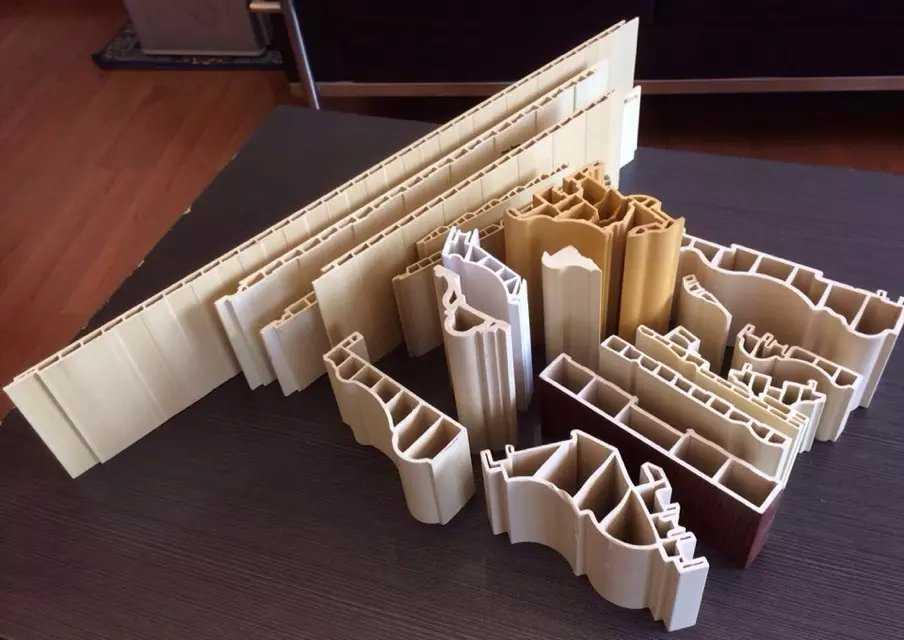 竹木纤维集成墙面生产线PVC木塑快装墙板设备生态护墙板生产机器4