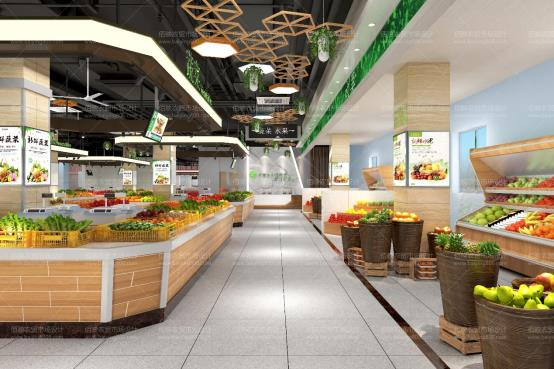 1129佰映设计案例:合肥大强路农贸市场