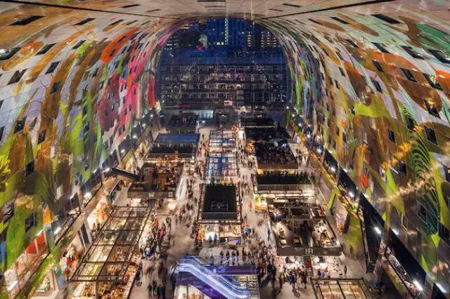 荷兰鹿特丹拱形大市场-图片1