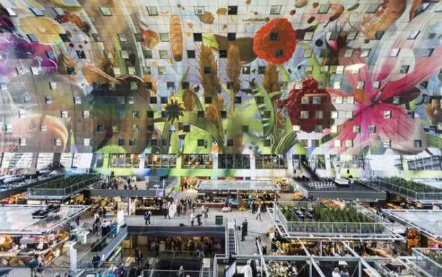 荷兰鹿特丹拱形大市场-图片3