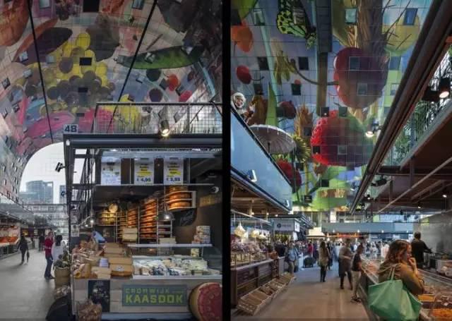 荷兰鹿特丹拱形大市场-图片4