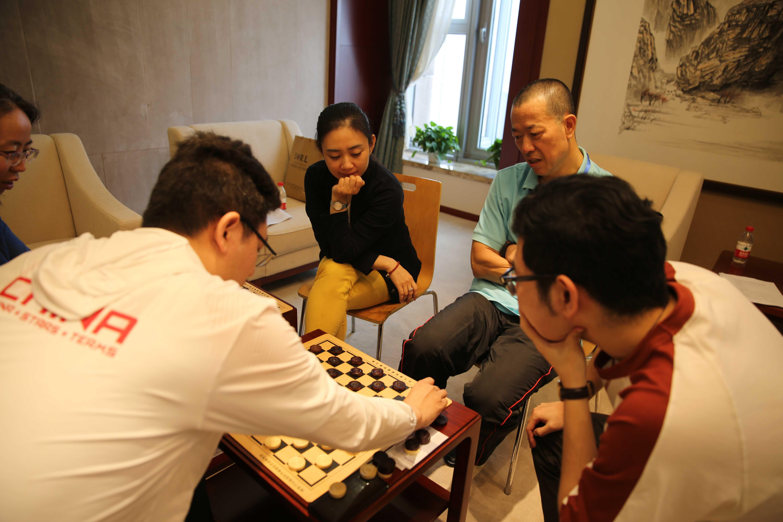项目及集训照片-国际跳棋集训