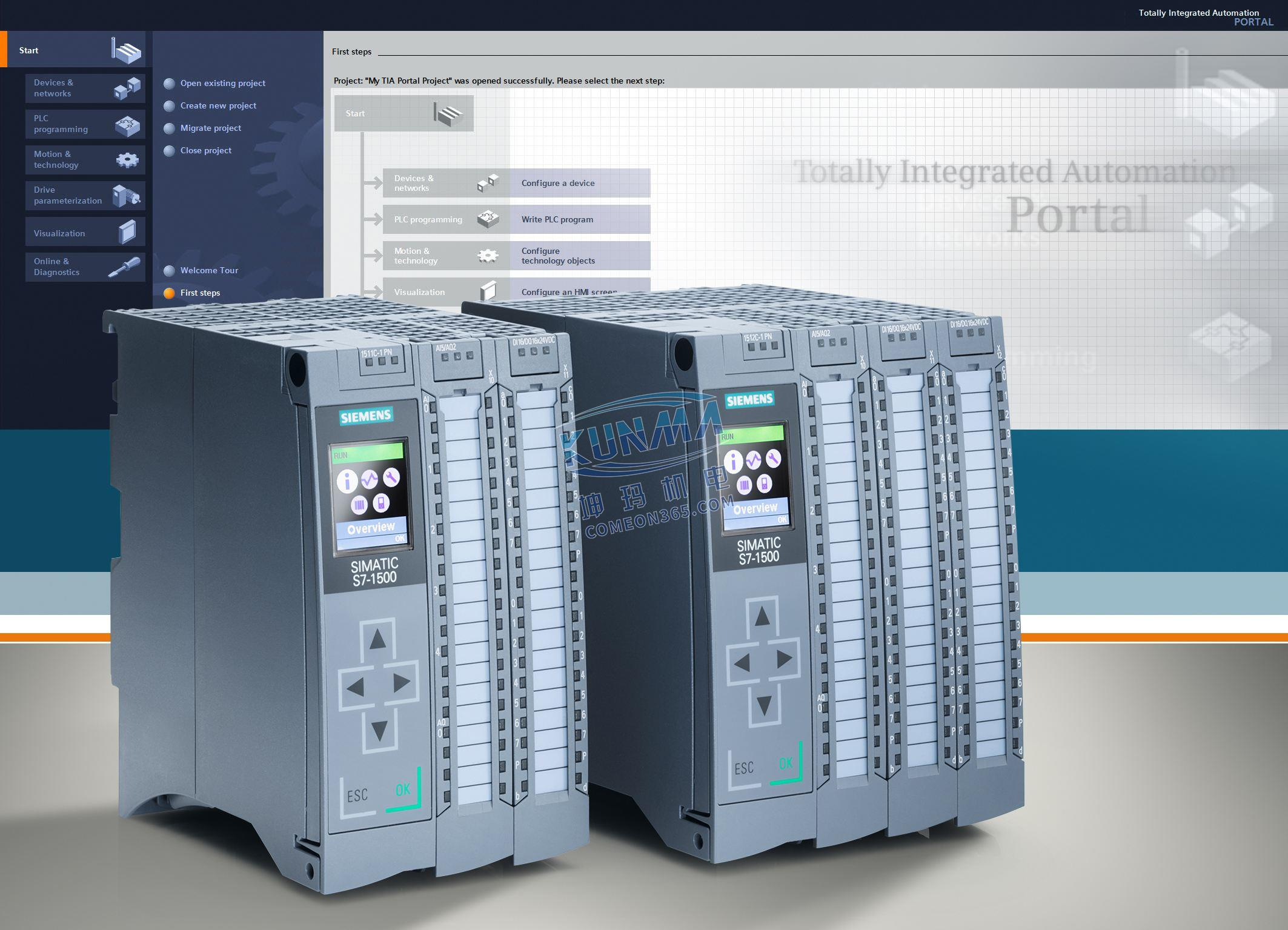 西门子PLC S7-1500 西门子SIMATIC S7-1500 CPU模块图片