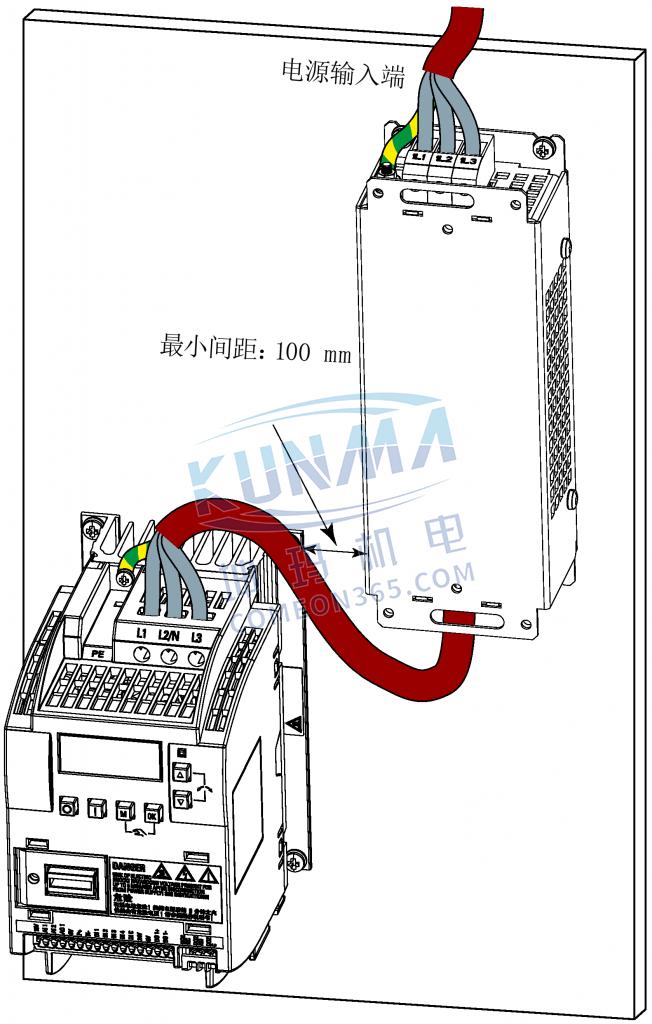 西门子变频器V20进线电抗器
