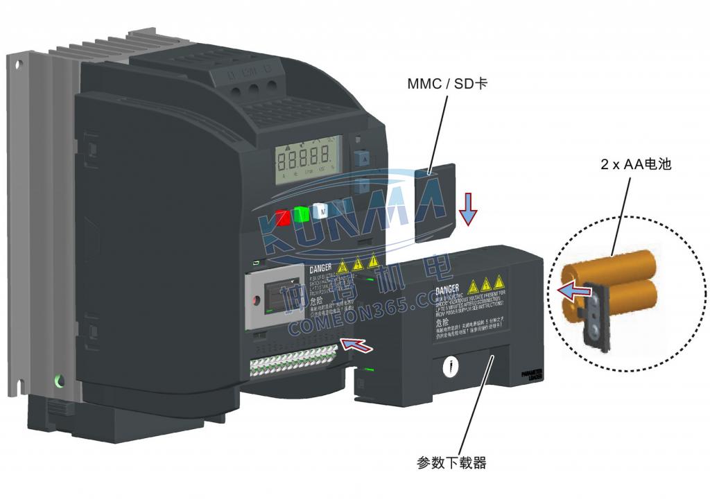 西门子变频器v20参数下载器