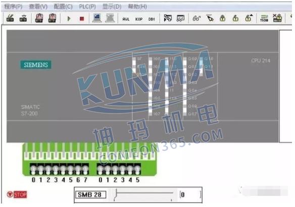 西门子plc如何模拟运行图片2