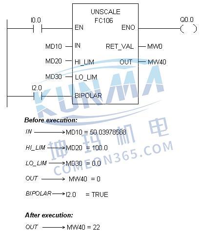 如何在西门子plc中编译fc105图片2