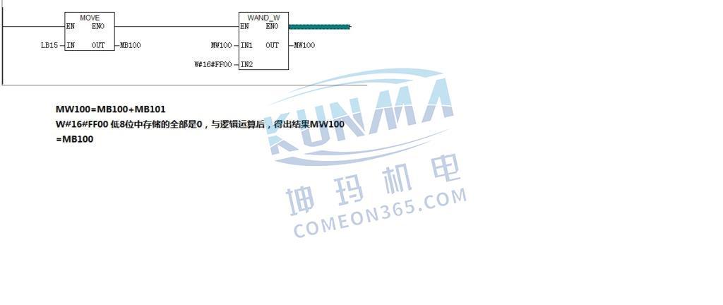 西门子300plc字节如何转换成字图片1