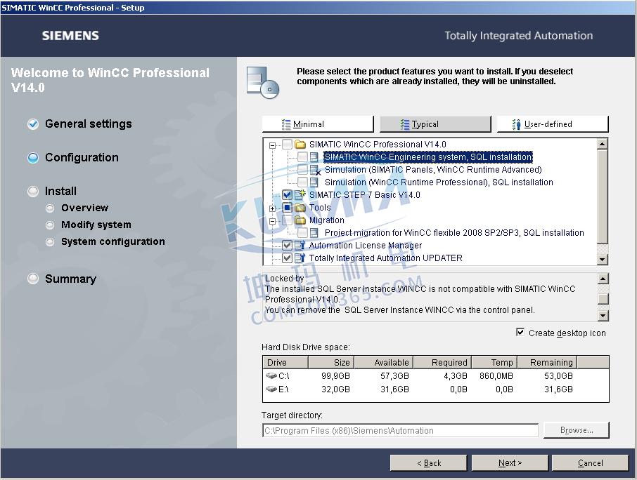 如何卸载 WinCC Professional 或 WinCC Runtime Professional 的SQL Server 实例?图片1