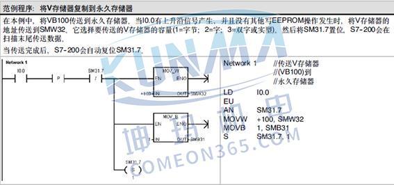 S7-200CPU掉电数据保持常见问题图片5