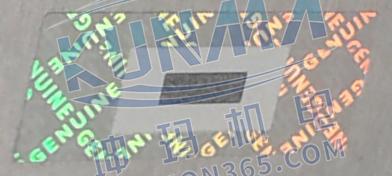 SIMATIC S7-300 模块的防伪封签图片3