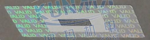 SIMATIC S7-300 模块的防伪封签图片4