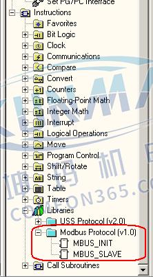 CPU 上的通信口(Port0)支持 Modbus RTU 从站通信协议图片2