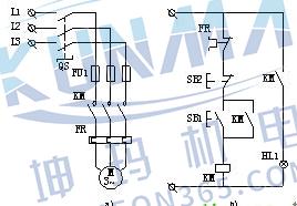 PLC控制柜柜体结构及布置控制原理图图片1