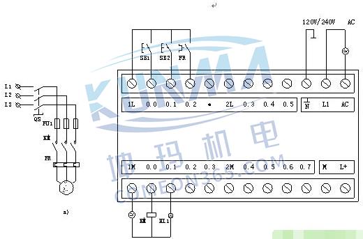 PLC控制柜柜体结构及布置控制原理图图片2