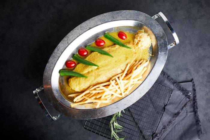 法式秘制醬汁魚排33293