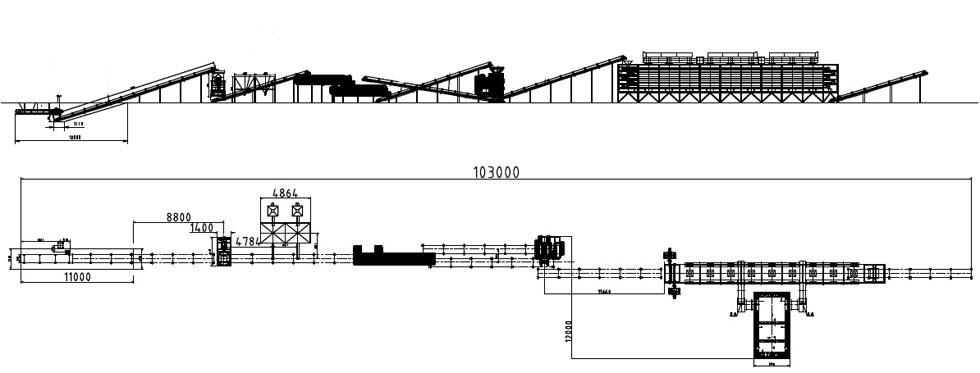 型煤流程图