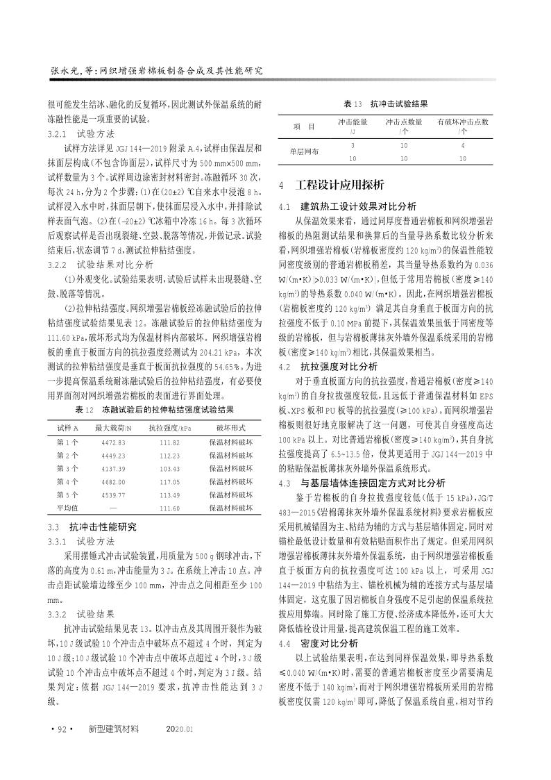 网织增强岩棉板制备合成及其性能研究_6