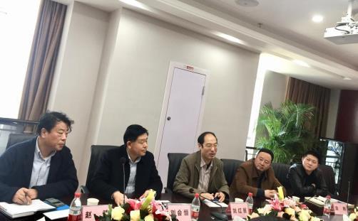 咸宁金融投资集团有限责任公司董事长姚红星一行到访公司