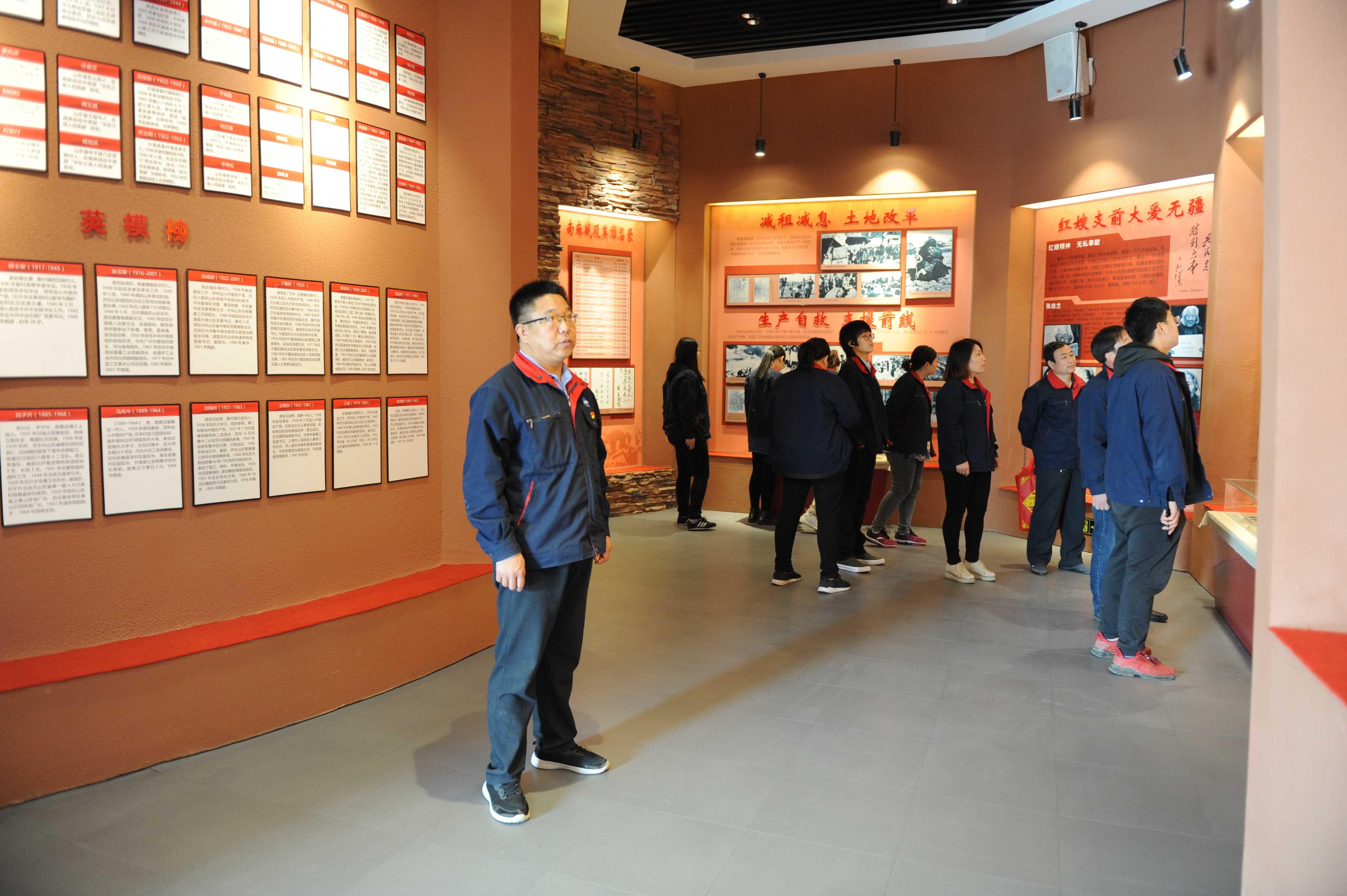 清明节-参观革命历史纪念馆