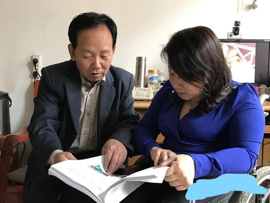 饶阳县省级文明家庭刘学良-刘学良、刘彩霞学习