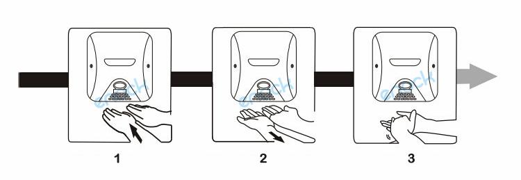 不锈钢高速干手器使用方法