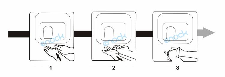 如何使用不锈钢烘手器