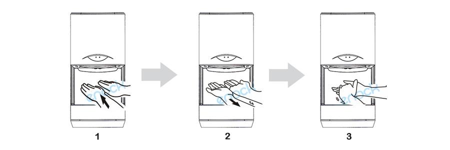 干手机的使用方法